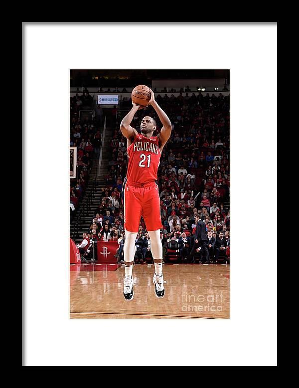 Nba Pro Basketball Framed Print featuring the photograph Darius Miller by Bill Baptist
