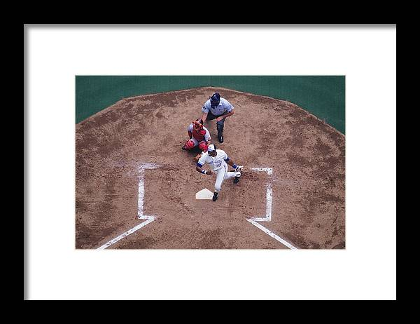 American League Baseball Framed Print featuring the photograph Dave Winfield by Ronald C. Modra/sports Imagery