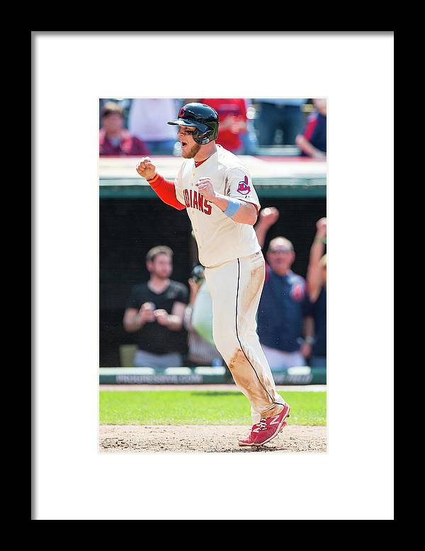 Ninth Inning Framed Print featuring the photograph David Murphy by Jason Miller