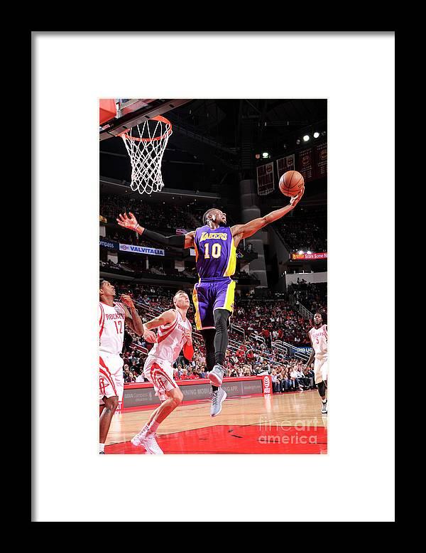 Nba Pro Basketball Framed Print featuring the photograph David Nwaba by Bill Baptist