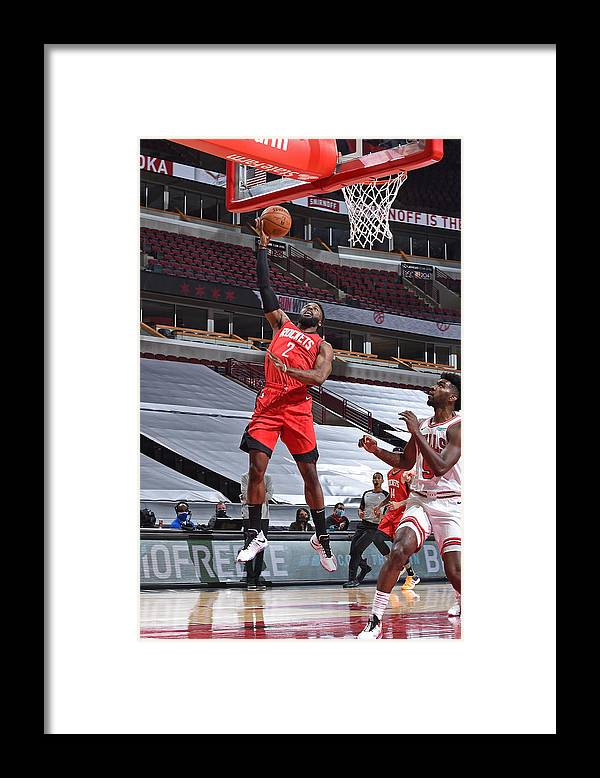 Nba Pro Basketball Framed Print featuring the photograph David Nwaba by Randy Belice