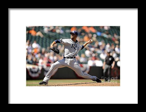 David Price Framed Print featuring the photograph David Price by G Fiume
