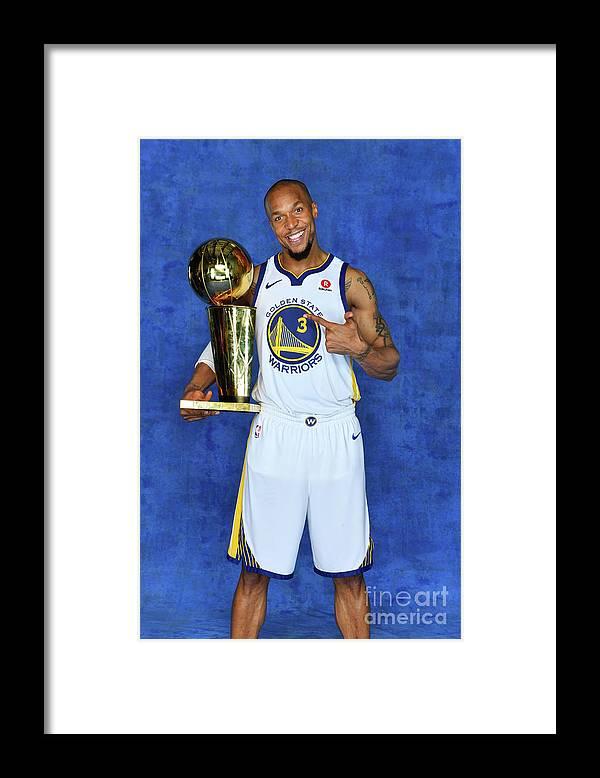 Playoffs Framed Print featuring the photograph David West by Jesse D. Garrabrant