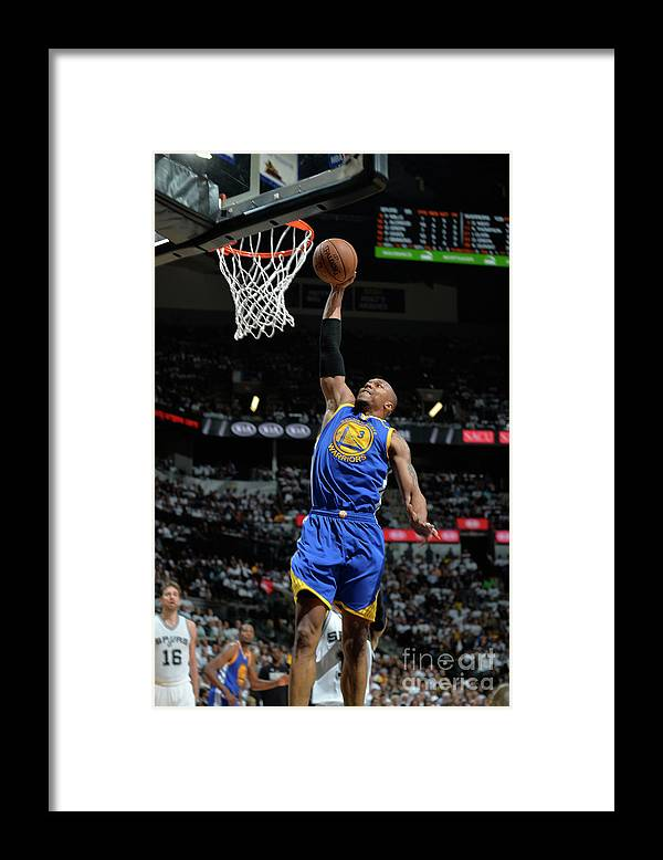 Playoffs Framed Print featuring the photograph David West by Mark Sobhani