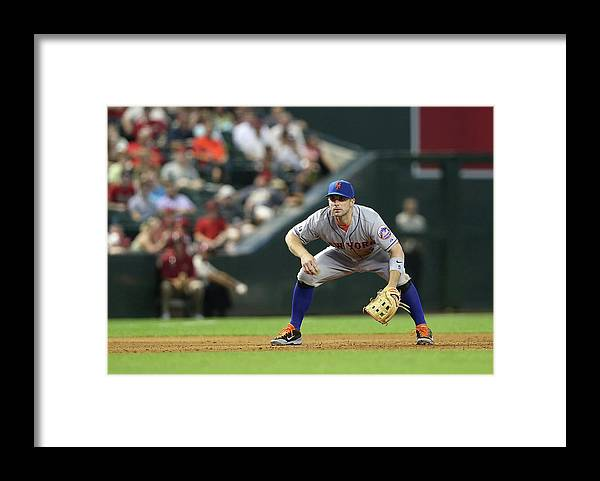 Motion Framed Print featuring the photograph David Wright by Christian Petersen