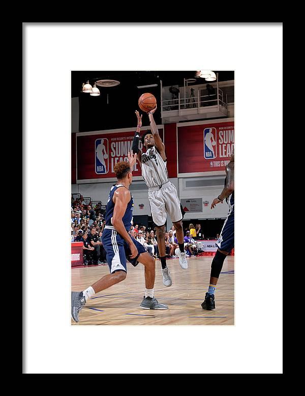 Nba Pro Basketball Framed Print featuring the photograph De'aaron Fox by David Dow