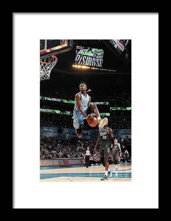 Nba Pro Basketball Framed Print featuring the photograph De'aaron Fox by Nathaniel S. Butler