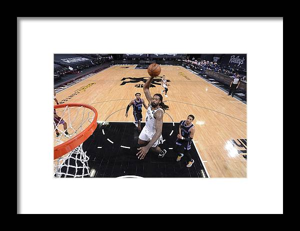 Nba Pro Basketball Framed Print featuring the photograph Deandre Jordan by Rocky Widner