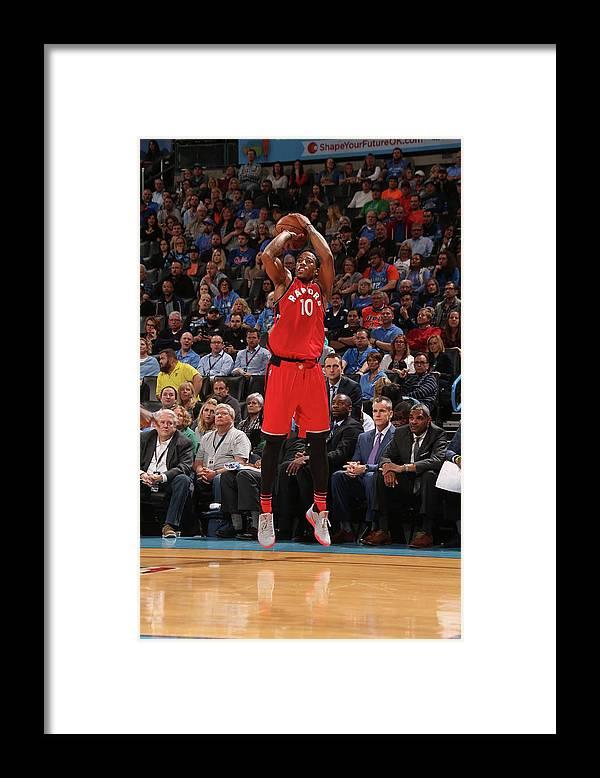 Nba Pro Basketball Framed Print featuring the photograph Demar Derozan by Layne Murdoch