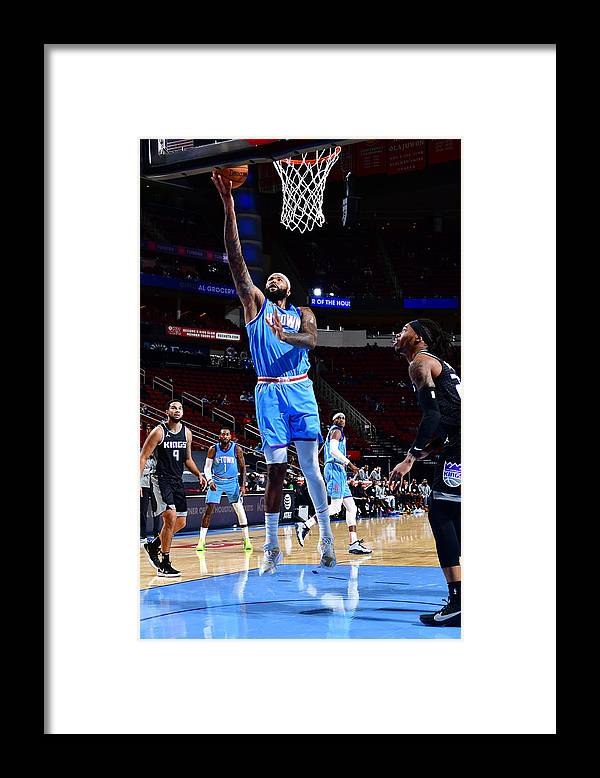 Nba Pro Basketball Framed Print featuring the photograph Demarcus Cousins by Cato Cataldo