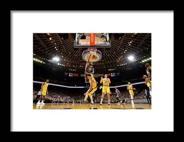 Nba Pro Basketball Framed Print featuring the photograph Demarcus Cousins by Noah Graham