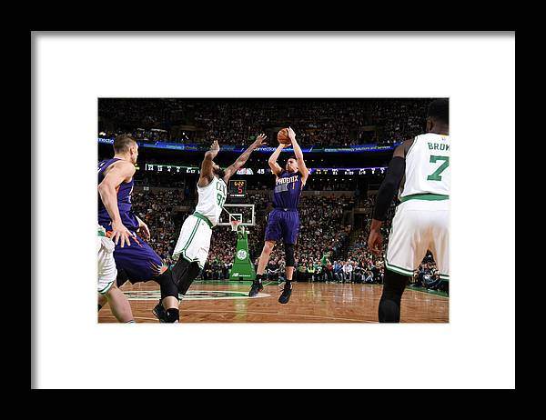 Nba Pro Basketball Framed Print featuring the photograph Devin Booker by Brian Babineau