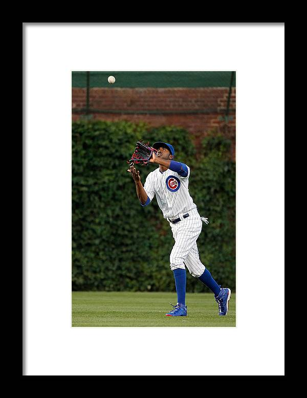 People Framed Print featuring the photograph Dexter Fowler by Jon Durr