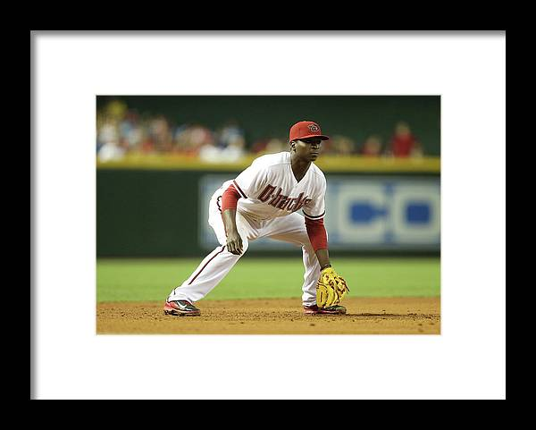 Motion Framed Print featuring the photograph Didi Gregorius by Christian Petersen