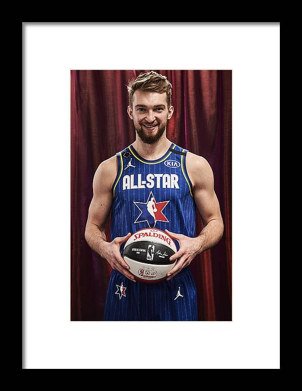 Nba Pro Basketball Framed Print featuring the photograph Domantas Sabonis by Jennifer Pottheiser