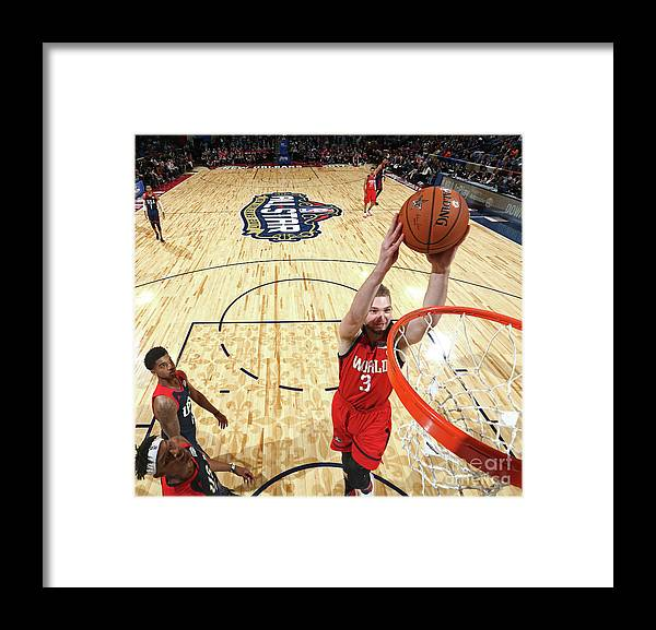 Event Framed Print featuring the photograph Domantas Sabonis by Nathaniel S. Butler