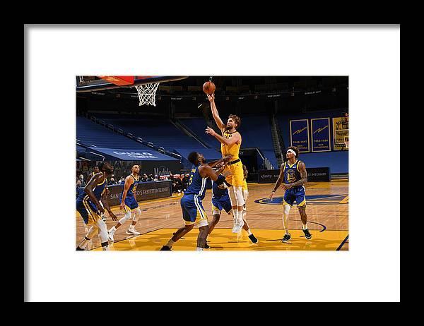 San Francisco Framed Print featuring the photograph Domantas Sabonis by Noah Graham