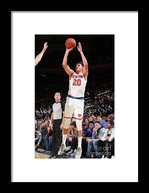 Nba Pro Basketball Framed Print featuring the photograph Doug Mcdermott by Nathaniel S. Butler