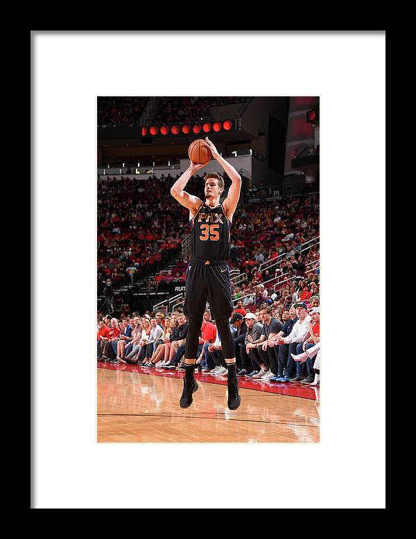 Nba Pro Basketball Framed Print featuring the photograph Dragan Bender by Bill Baptist
