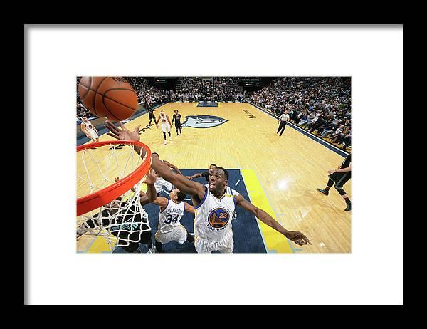 Nba Pro Basketball Framed Print featuring the photograph Draymond Green by Joe Murphy