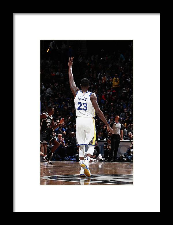 Nba Pro Basketball Framed Print featuring the photograph Draymond Green by Nathaniel S. Butler
