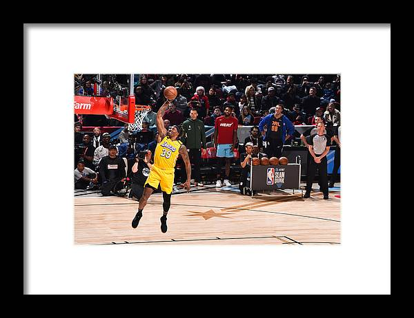 Nba Pro Basketball Framed Print featuring the photograph Dwight Howard by Jesse D. Garrabrant