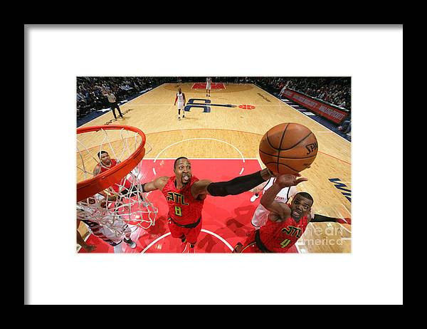 Playoffs Framed Print featuring the photograph Dwight Howard by Ned Dishman