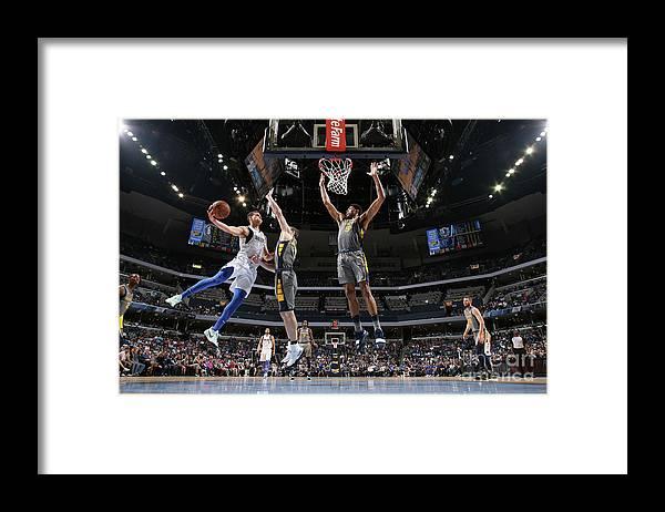 Dwight Powell Framed Print featuring the photograph Dwight Powell by Joe Murphy