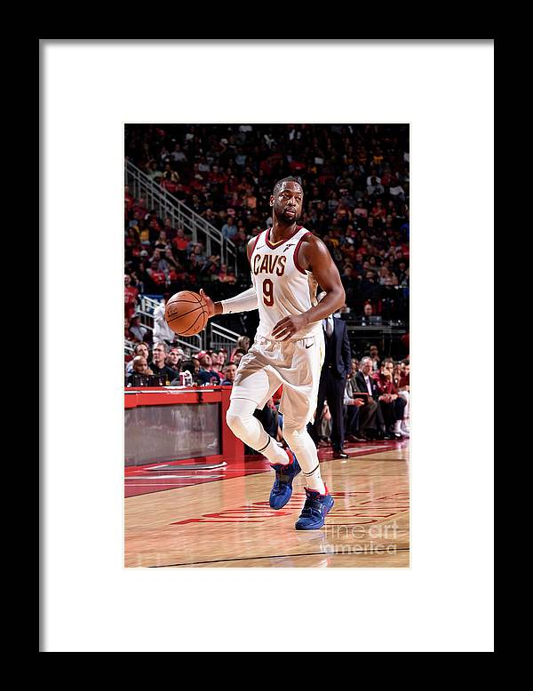 Nba Pro Basketball Framed Print featuring the photograph Dwyane Wade by Bill Baptist