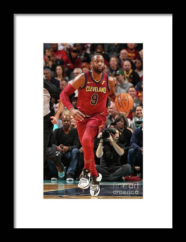 Nba Pro Basketball Framed Print featuring the photograph Dwyane Wade by Kent Smith