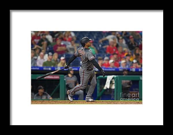 People Framed Print featuring the photograph Eduardo Escobar by Mitchell Leff