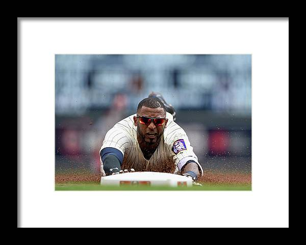 People Framed Print featuring the photograph Eduardo Nunez by Hannah Foslien