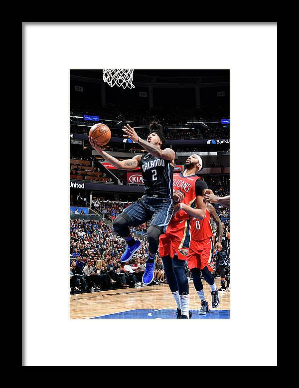Nba Pro Basketball Framed Print featuring the photograph Elfrid Payton by Fernando Medina