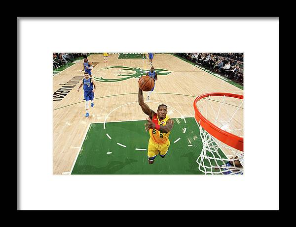 Nba Pro Basketball Framed Print featuring the photograph Eric Bledsoe by Gary Dineen