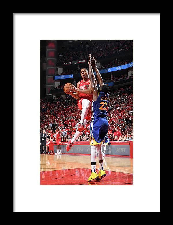 Playoffs Framed Print featuring the photograph Eric Gordon by Andrew D. Bernstein