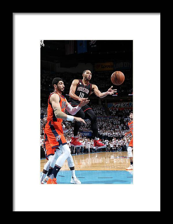 Playoffs Framed Print featuring the photograph Eric Gordon by Layne Murdoch