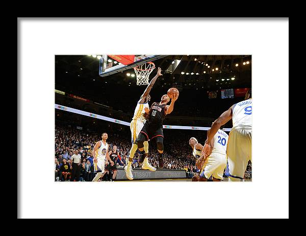 Nba Pro Basketball Framed Print featuring the photograph Eric Gordon by Noah Graham