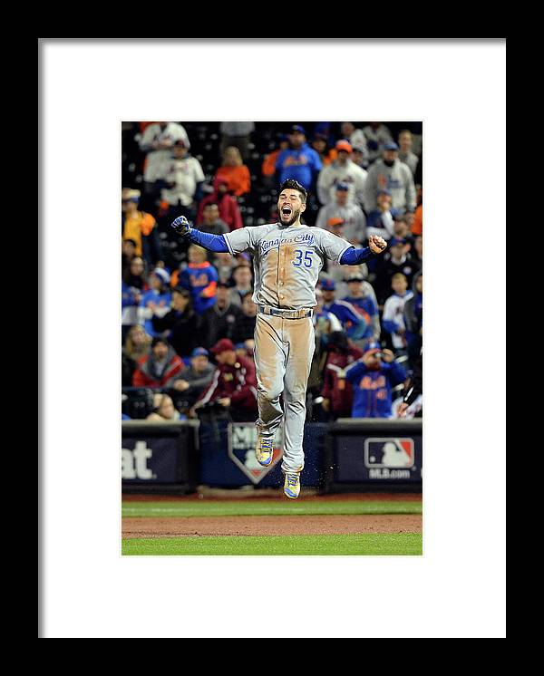 Playoffs Framed Print featuring the photograph Eric Hosmer by Ron Vesely