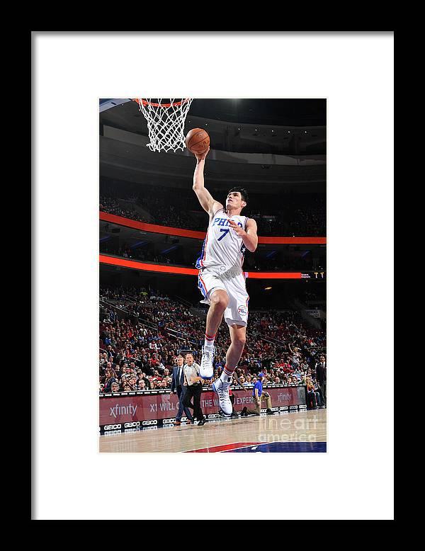 Nba Pro Basketball Framed Print featuring the photograph Ersan Ilyasova by Jesse D. Garrabrant