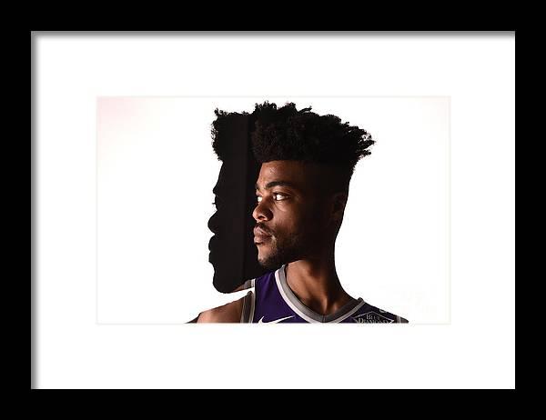 Nba Pro Basketball Framed Print featuring the photograph Frank Mason by Brian Babineau