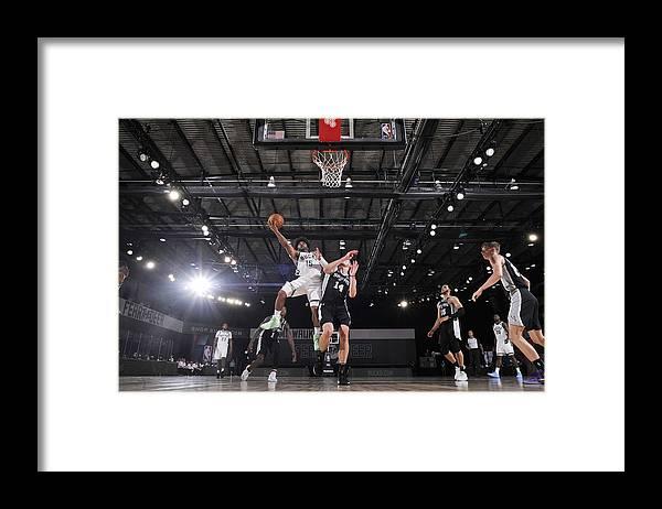 Nba Pro Basketball Framed Print featuring the photograph Frank Mason by Jesse D. Garrabrant