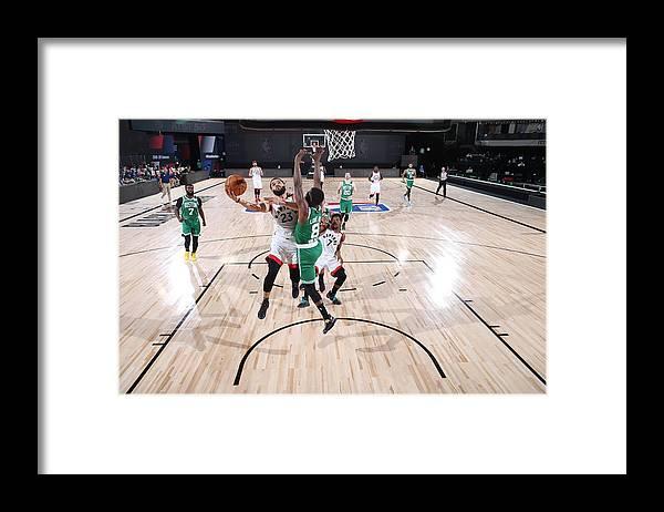 Nba Pro Basketball Framed Print featuring the photograph Fred Vanvleet by David Sherman