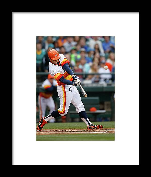 American League Baseball Framed Print featuring the photograph George Washington by Otto Greule Jr