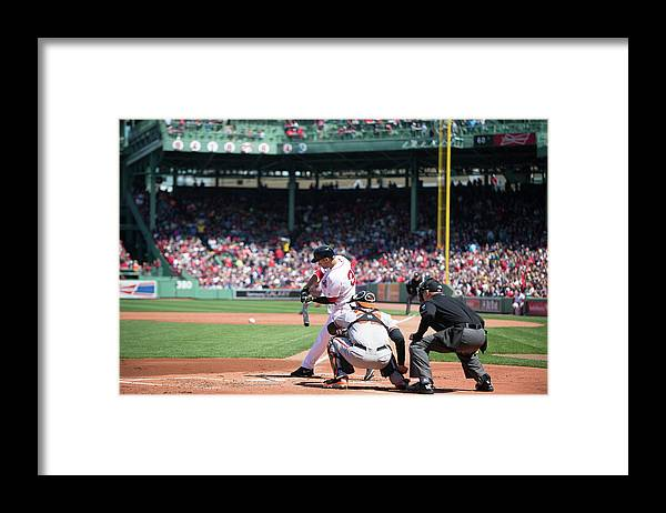 East Framed Print featuring the photograph Grady Sizemore by Rob Tringali