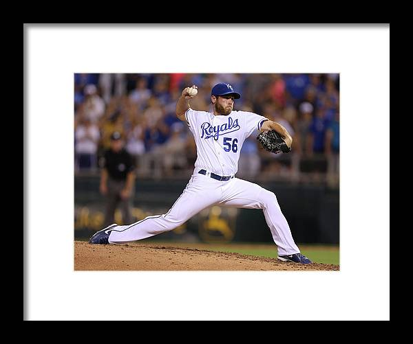 Ninth Inning Framed Print featuring the photograph Greg Holland by Ed Zurga