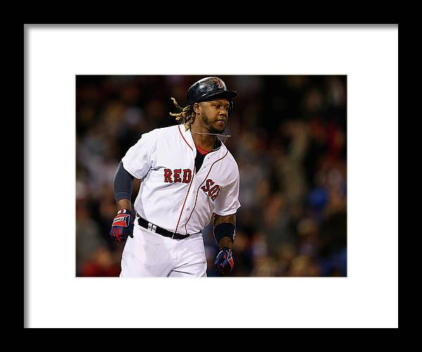 People Framed Print featuring the photograph Hanley Ramirez by Maddie Meyer