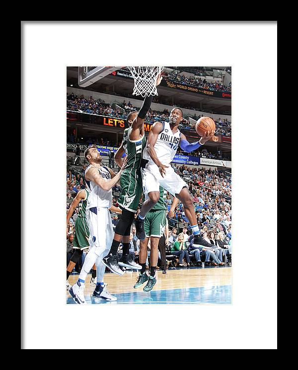 Nba Pro Basketball Framed Print featuring the photograph Harrison Barnes by Danny Bollinger