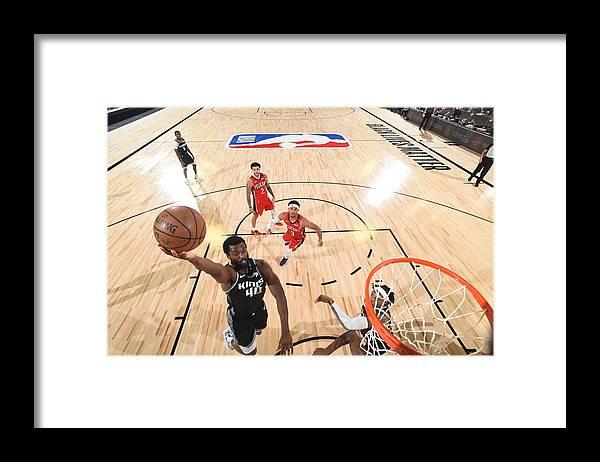 Nba Pro Basketball Framed Print featuring the photograph Harrison Barnes by Joe Murphy