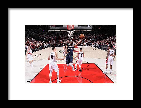 Playoffs Framed Print featuring the photograph Ian Clark by Sam Forencich