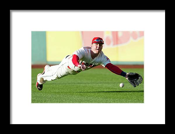 People Framed Print featuring the photograph Ian Kinsler by Jason Miller